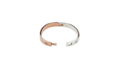 view of Eterna medical ID bracelet open